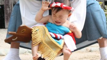 パーマリンク先: 赤ちゃん初土俵入
