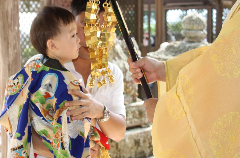 赤ちゃん相撲ご祈祷
