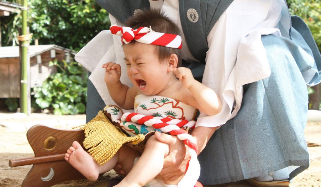 赤ちゃん相撲